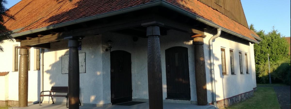 Wejście główne do kościoła